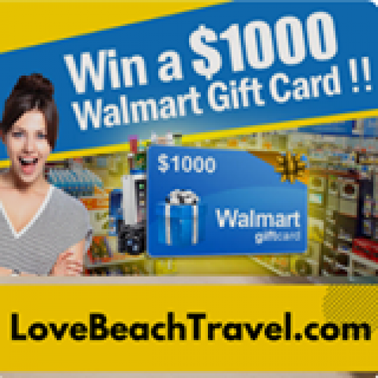 Win A $1,000 Walmart Giftcard
