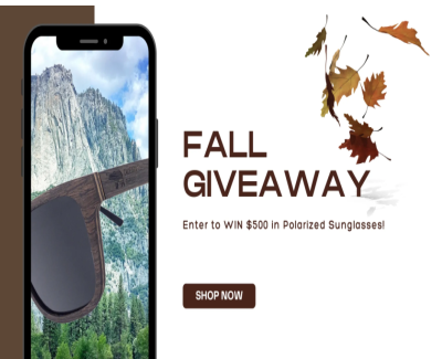 Win A $500 Gift Card For Polarized Sunglasses