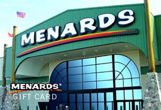 Win A $200 Menards Gift Card