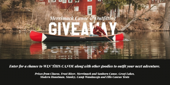 Win A $4,000 Canoe Along With Other Goodies