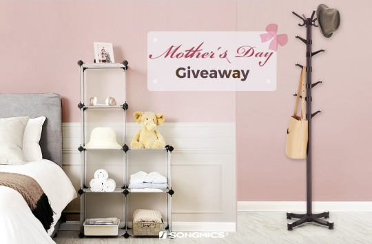 Win A $24.99 Storage Cube And A $26.99 Coat Rack